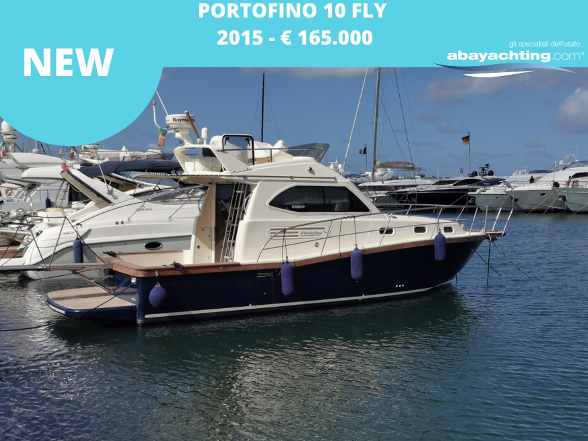 New arrival Portofino 10 Fly