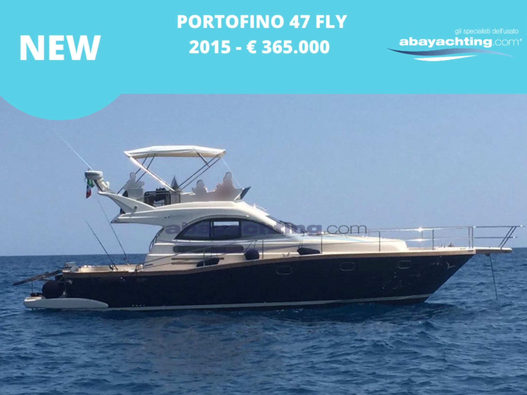 New arrival Portofino 47 Fly