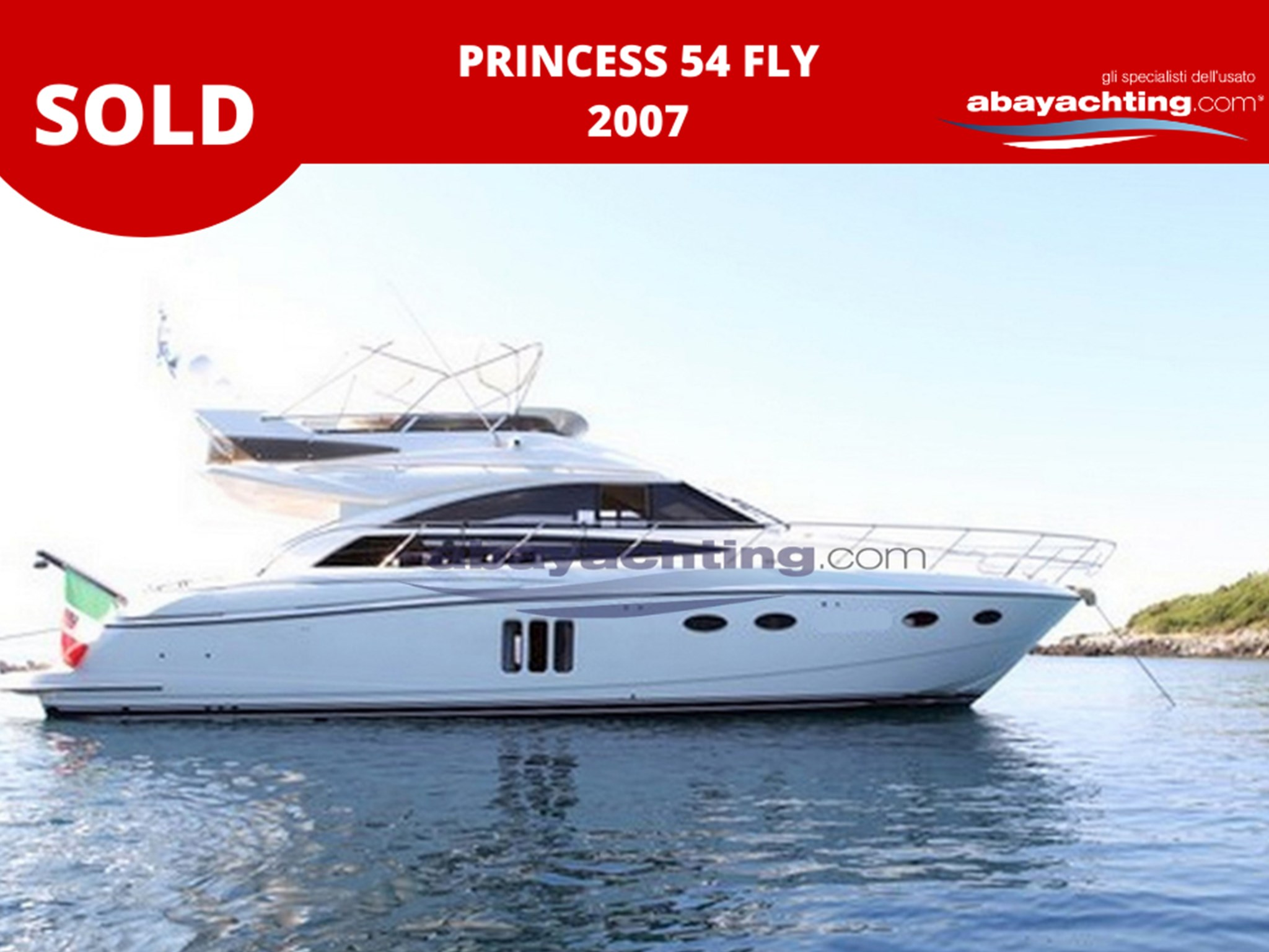 Princess 54 sold