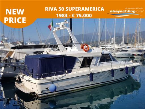 Price reduction Riva 50 Superamerica