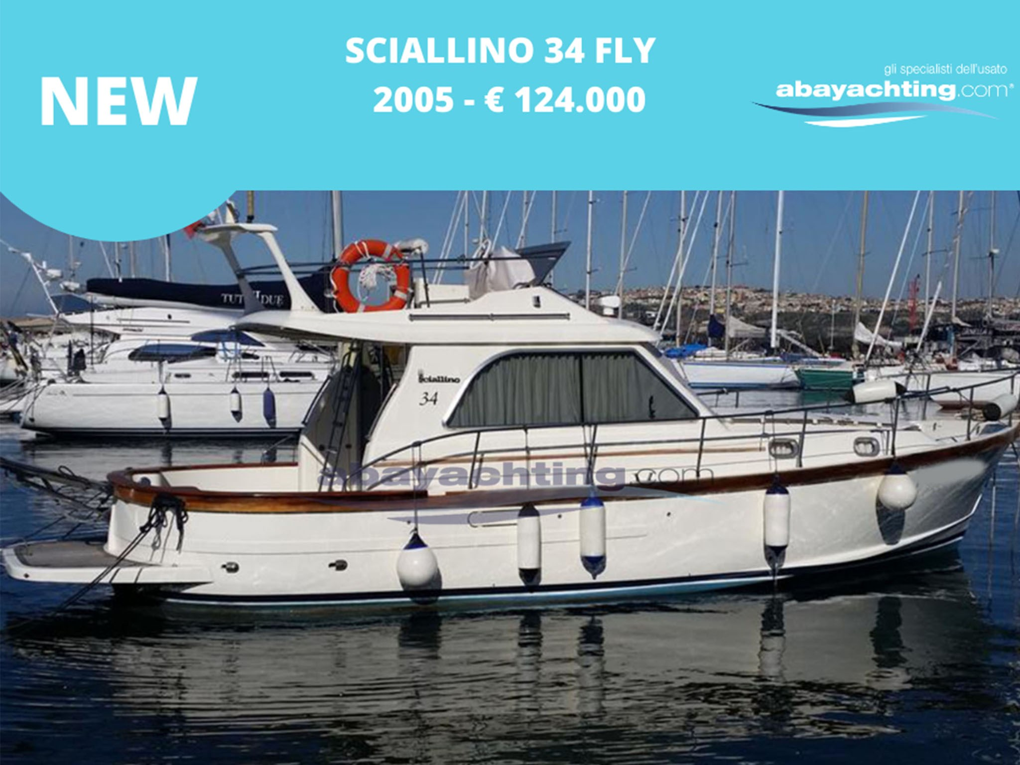 New arrival Sciallino 34 Fly