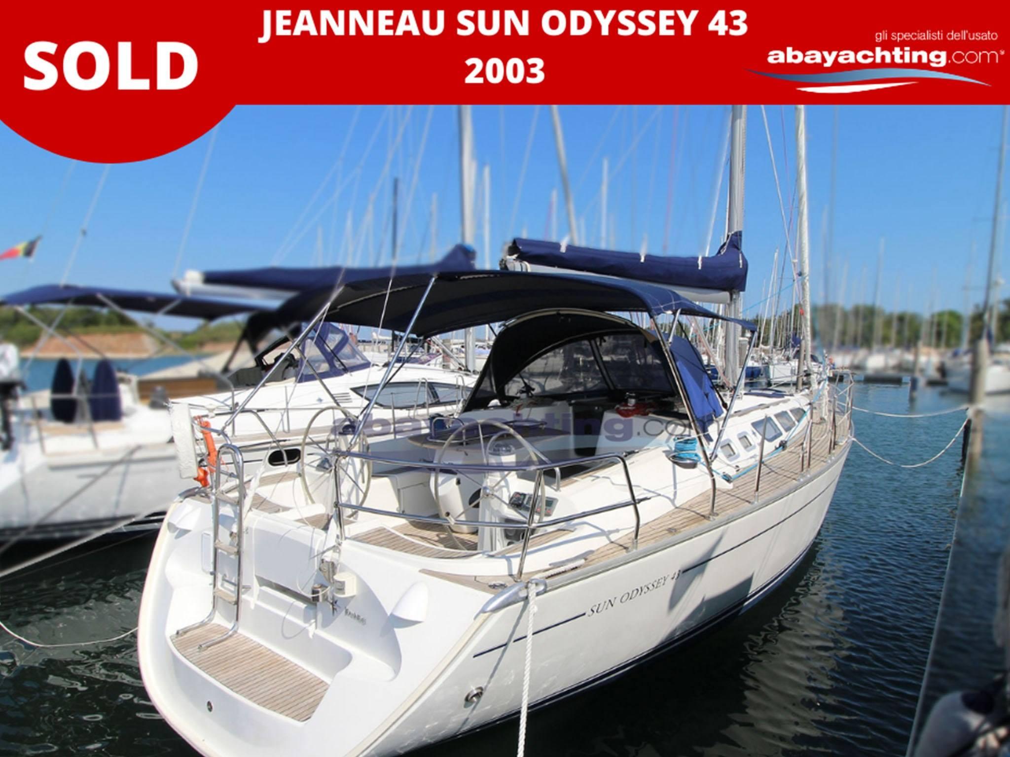 Jeanneau Sun Odyssey 49 vendu