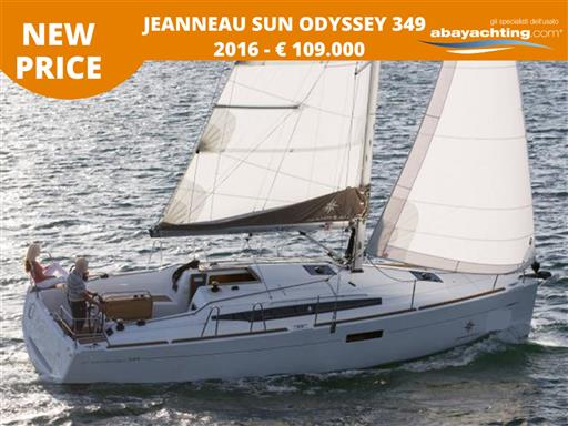 Price reduction Jeanneau Sun Odyssey 349