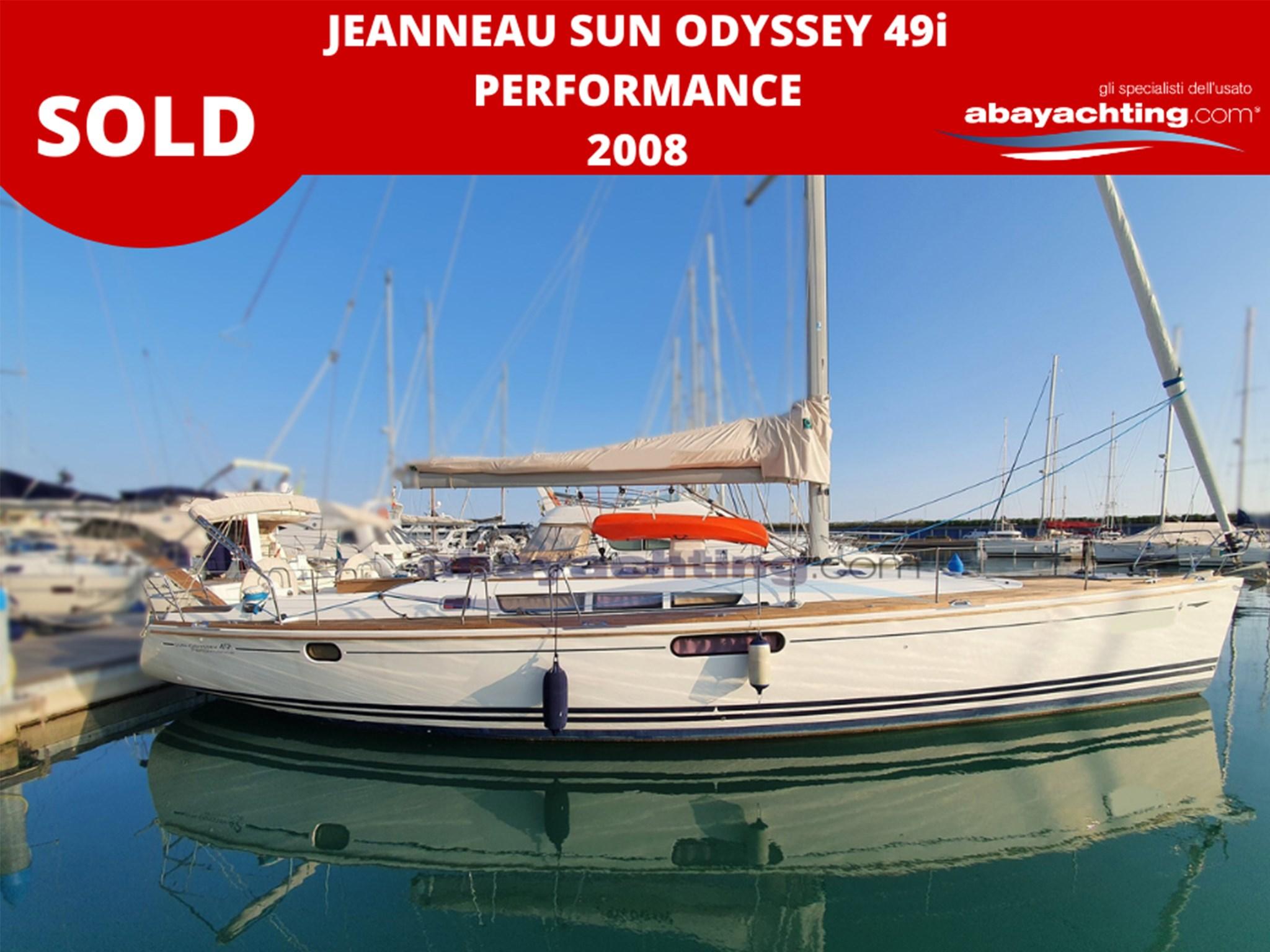 Jeanneau Sun Odyssey 49i 2008 vendu