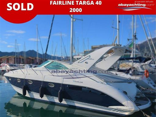 Targa 40 2000 sold
