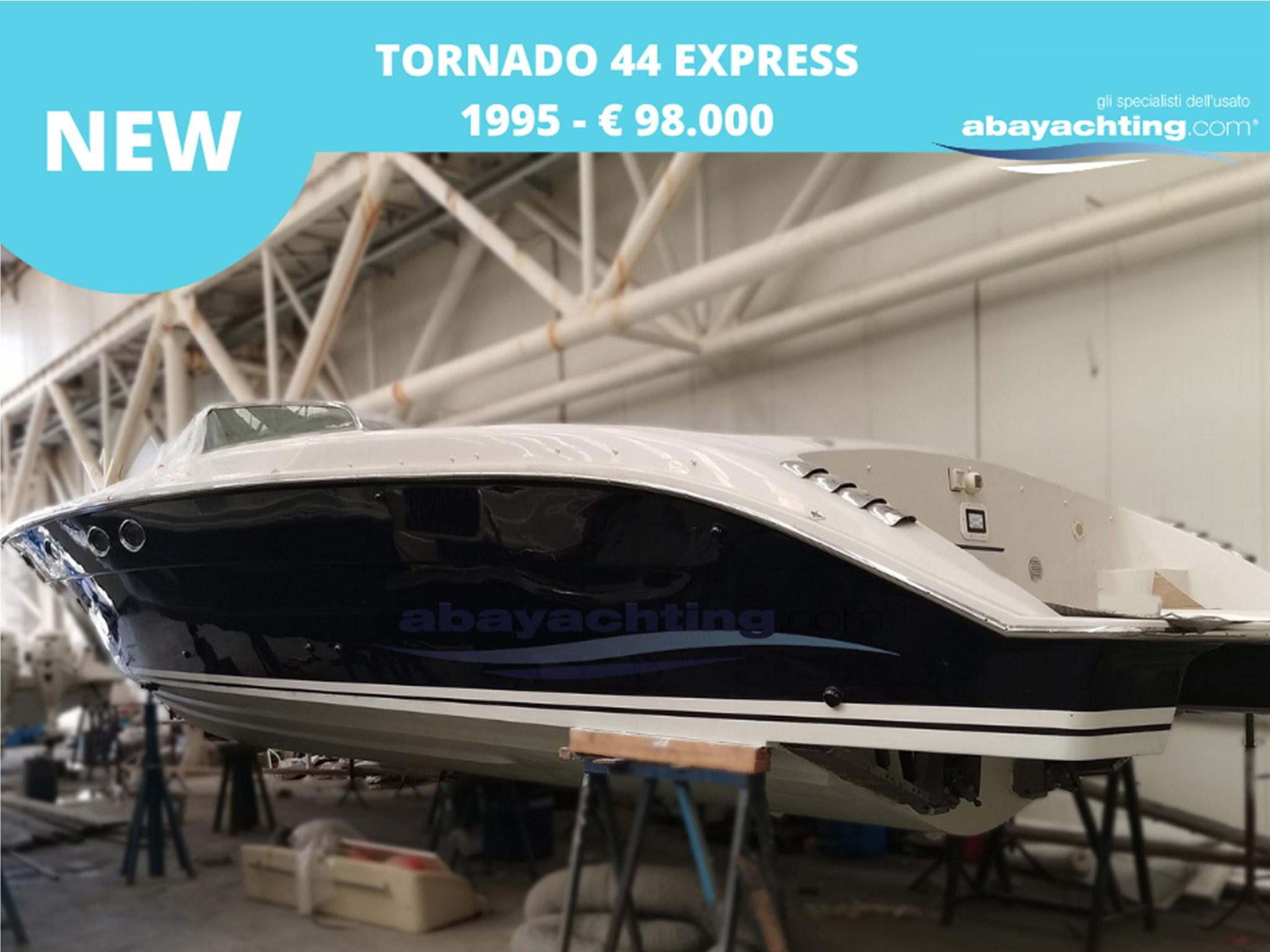 New arrival Tornado 44 Express