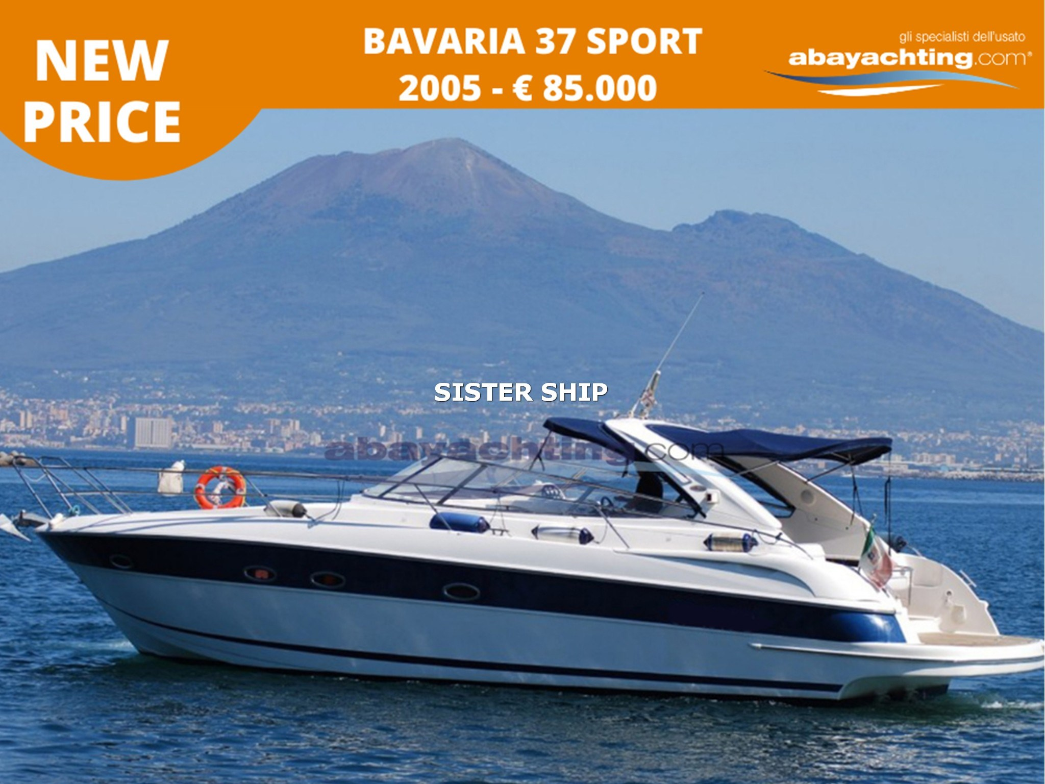 New price Bavaria 37 S