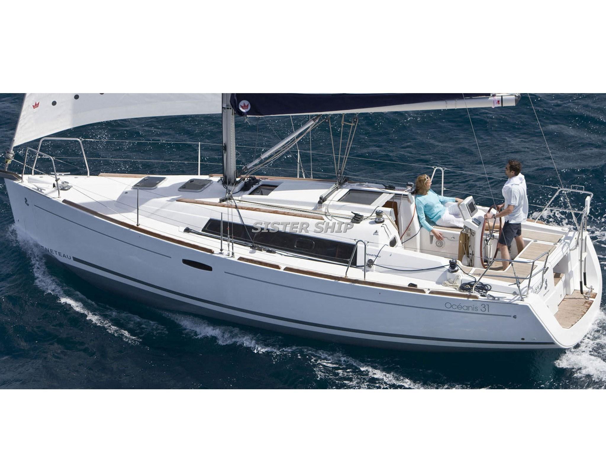 New arrival Beneteau Oceanis 31