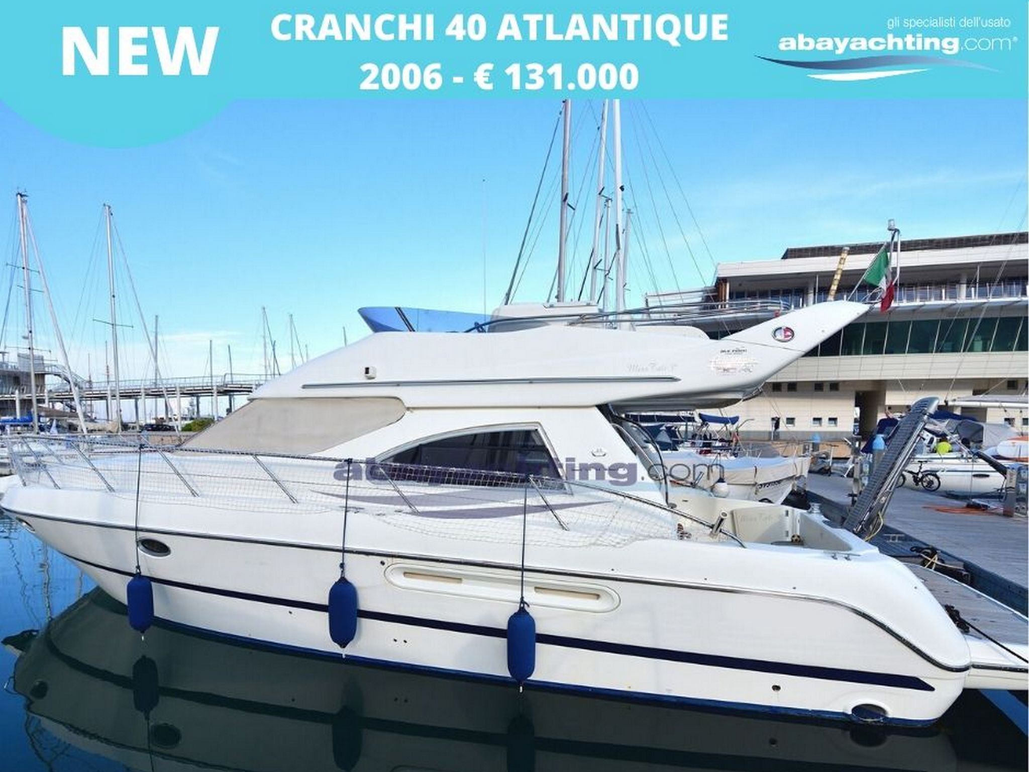 New arrival Canchi 40 Atlantique