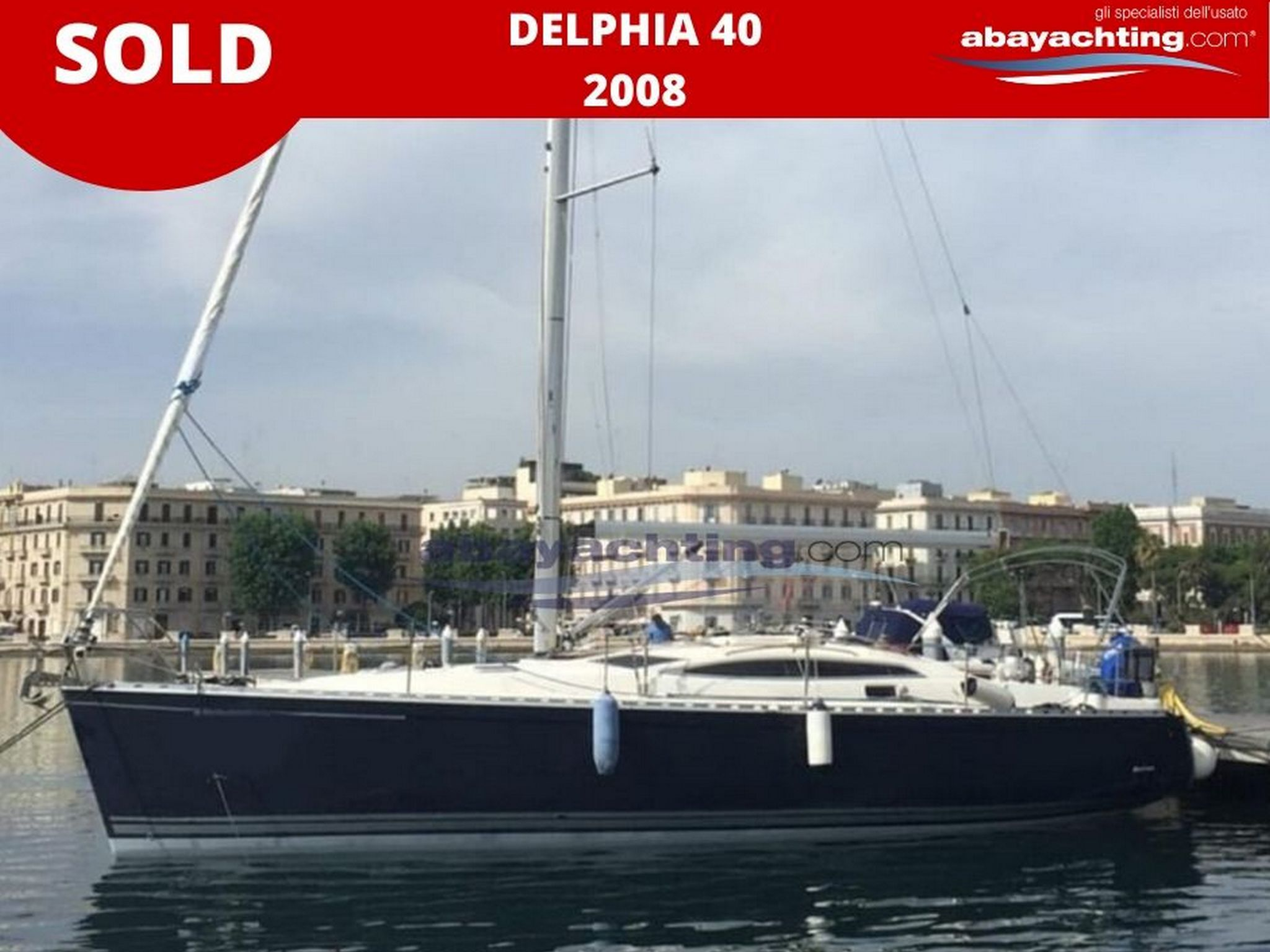 Delphia 40 vendu