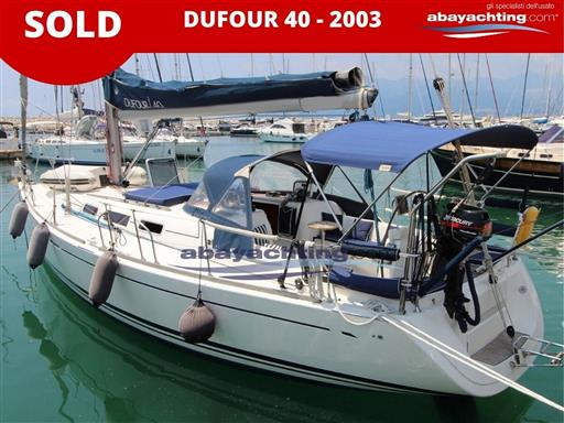 Dufour 40 sold