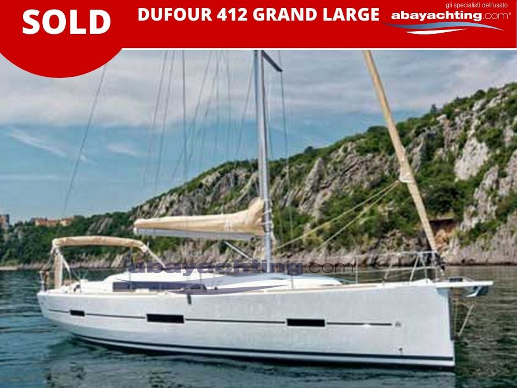 Dufour 412 Grand Large sold