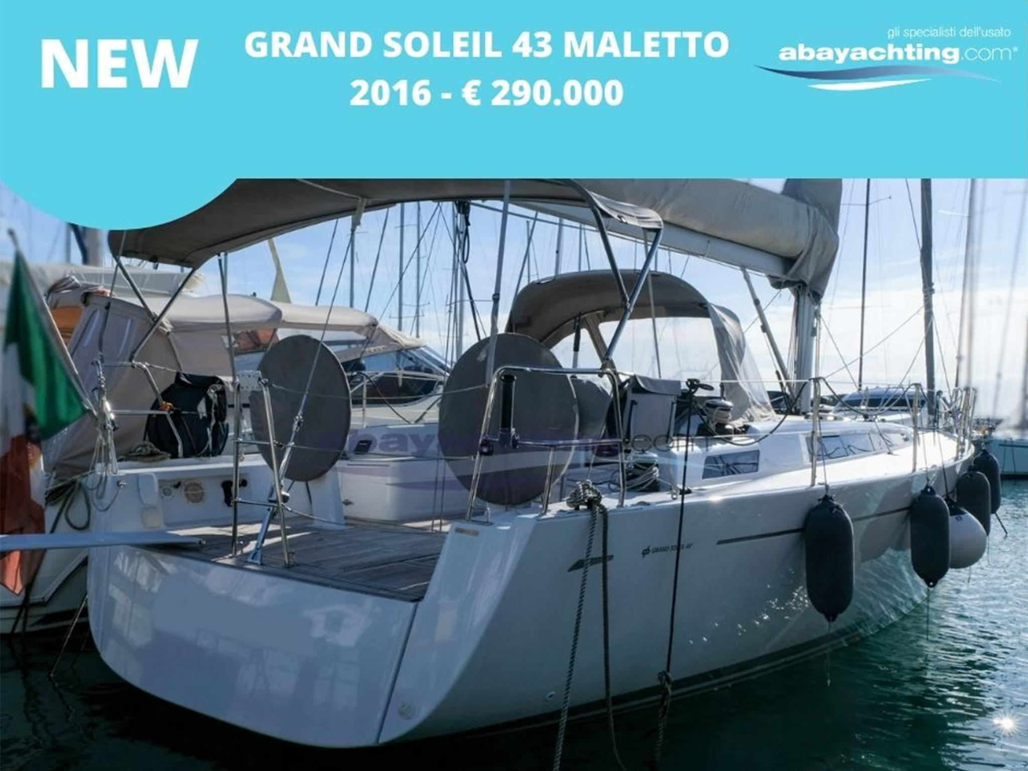 New arrival Grand Soleil 43 Maletto 2016