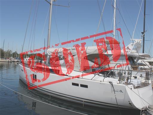 Hanse 545 sold