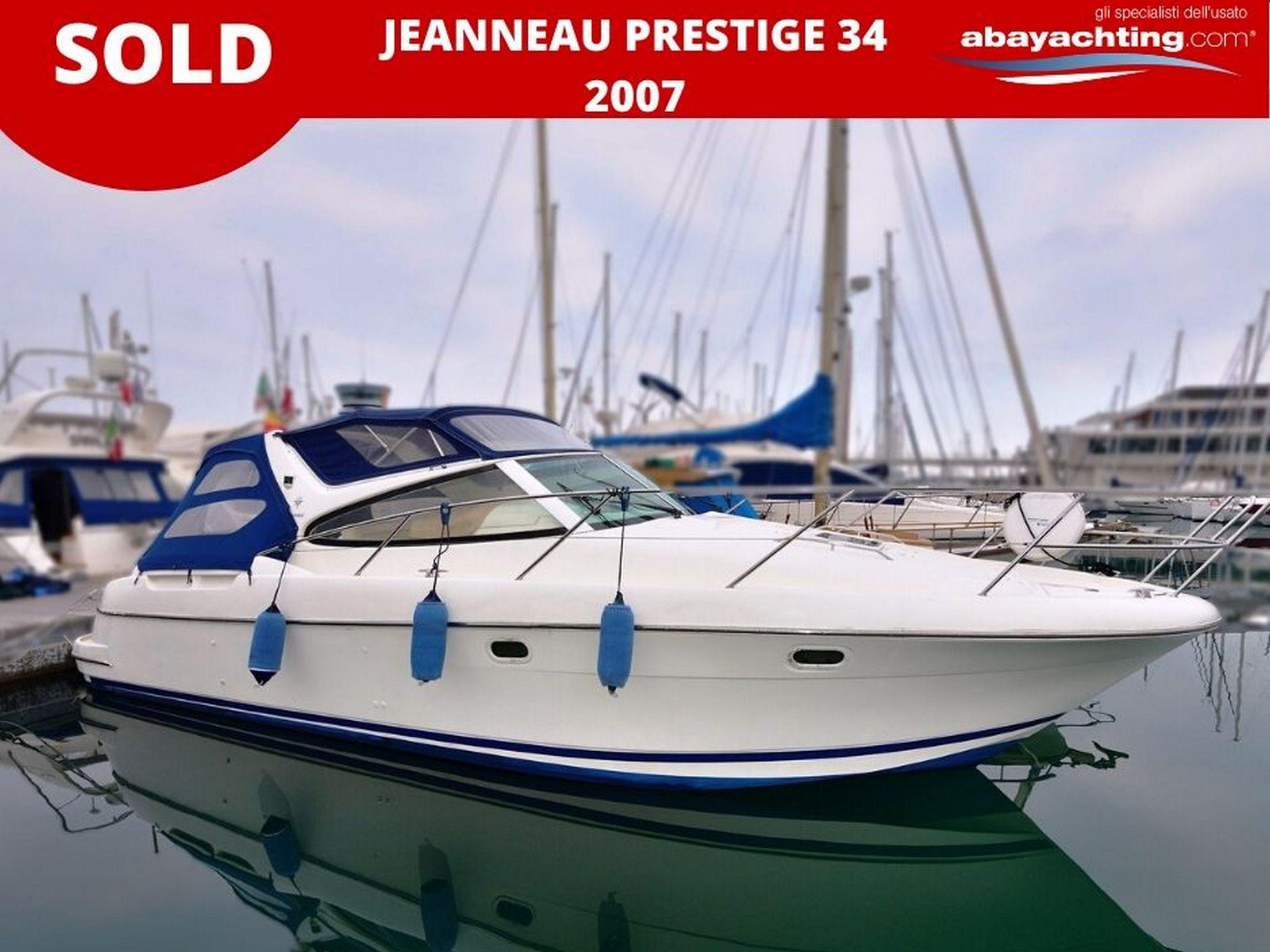 Jeanneau Prestige 34 vendu