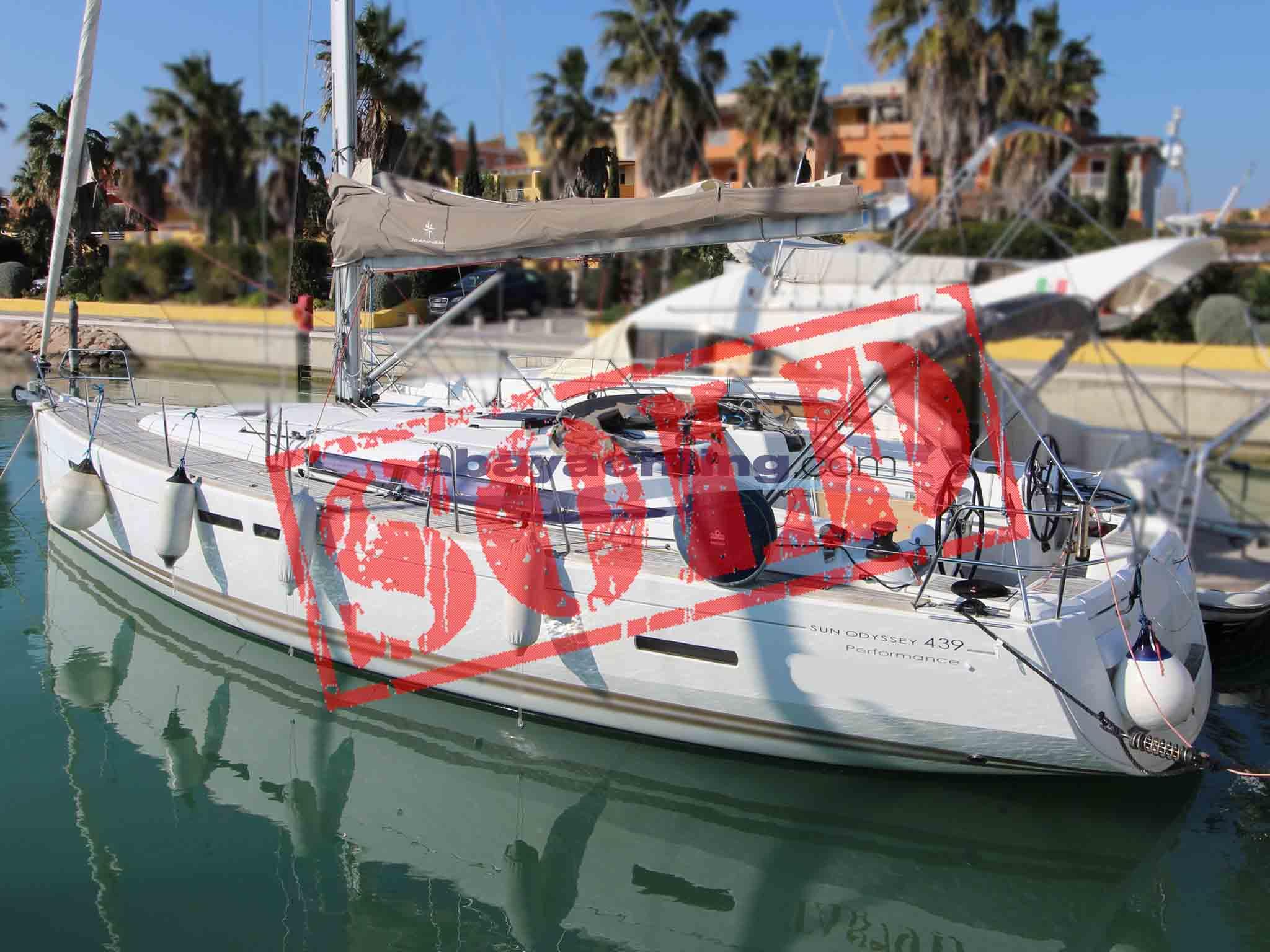 Jeanneau Sun Odyssey 439 2011 sold