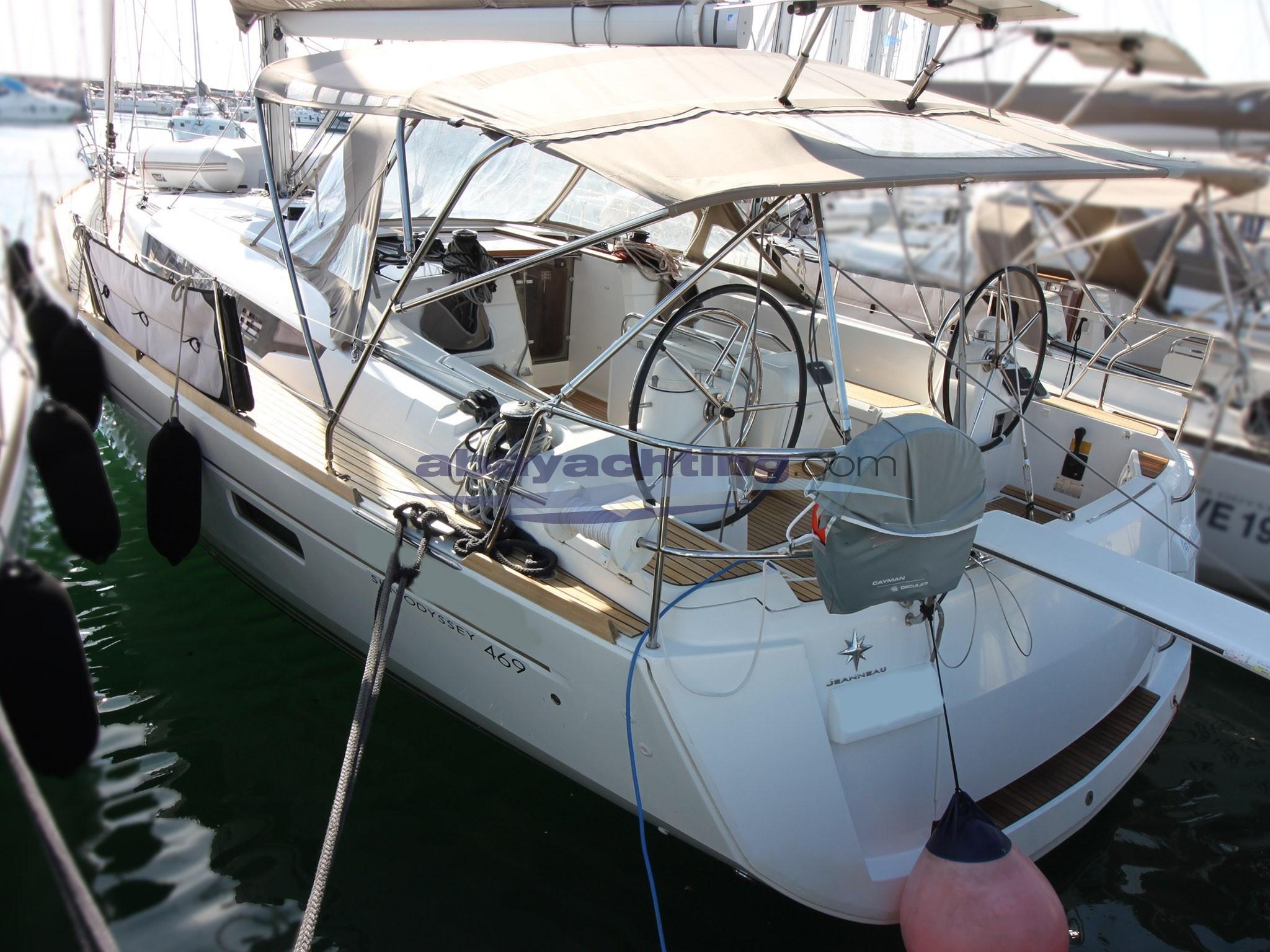 New arrival Jeanneau Sun Odyssey 469