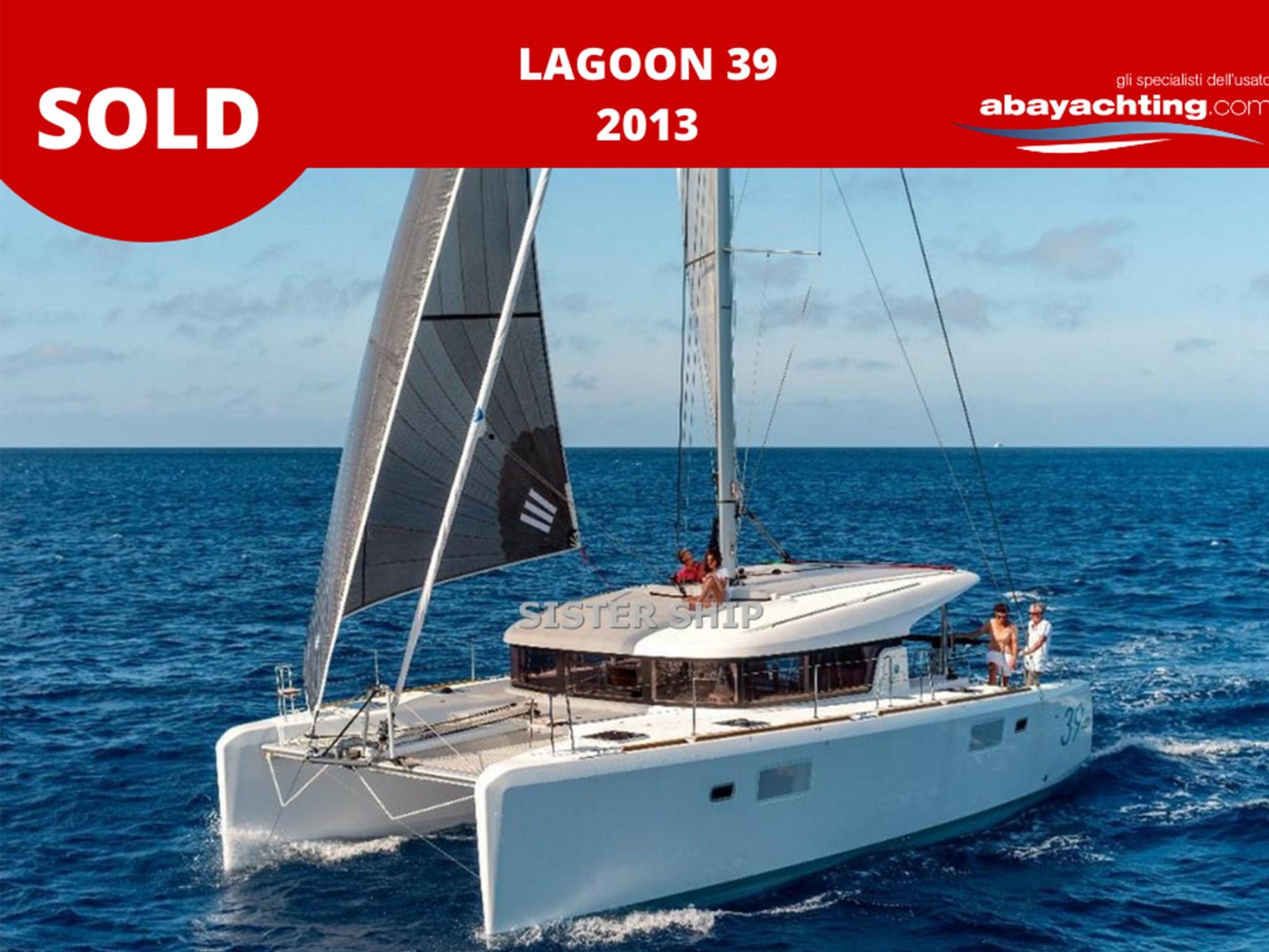 Lagoon 39 vendu