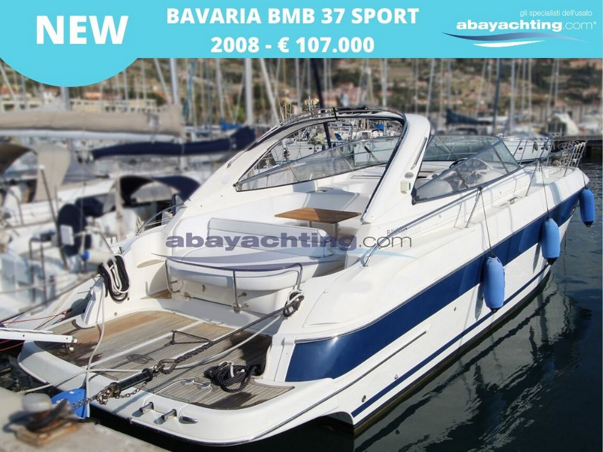 New arrival Bavaria 37 Sport