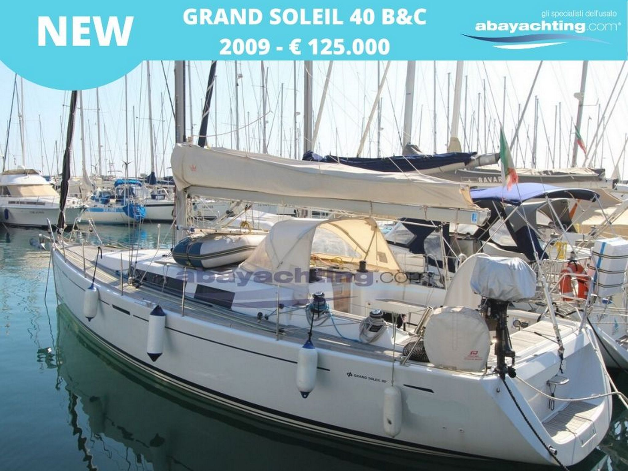 New arrival Grand Soleil 40 B&C
