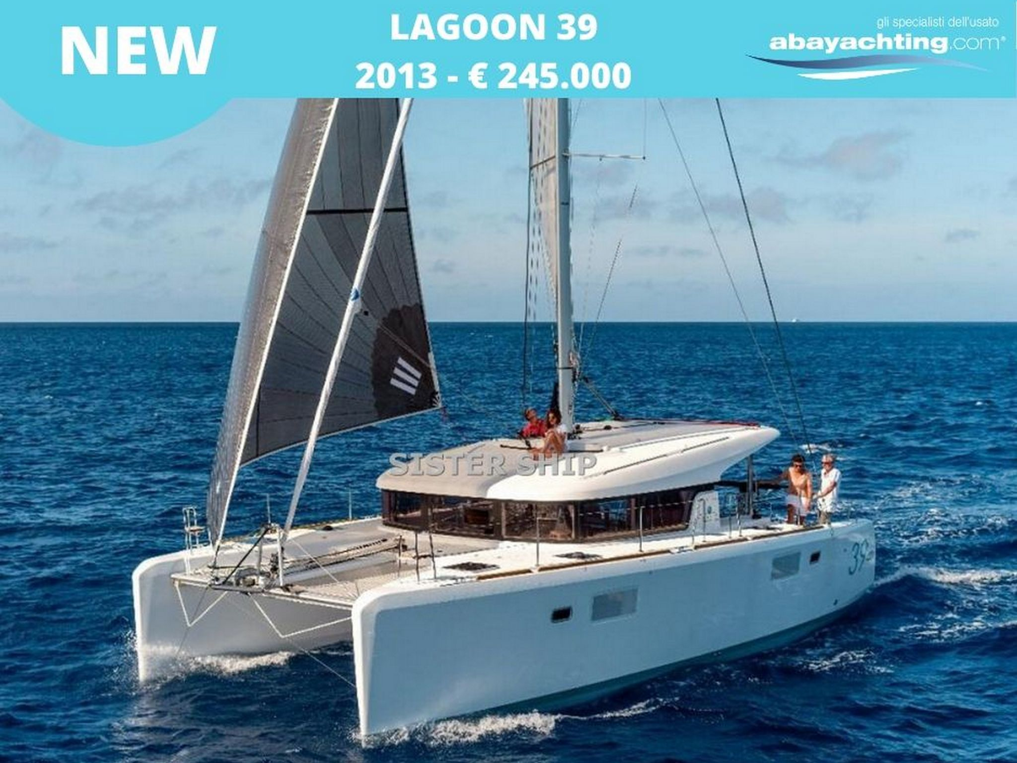 New arrival Lagoon 39