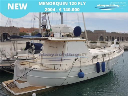 Nuovo arrivo Menorquin 120 Fly