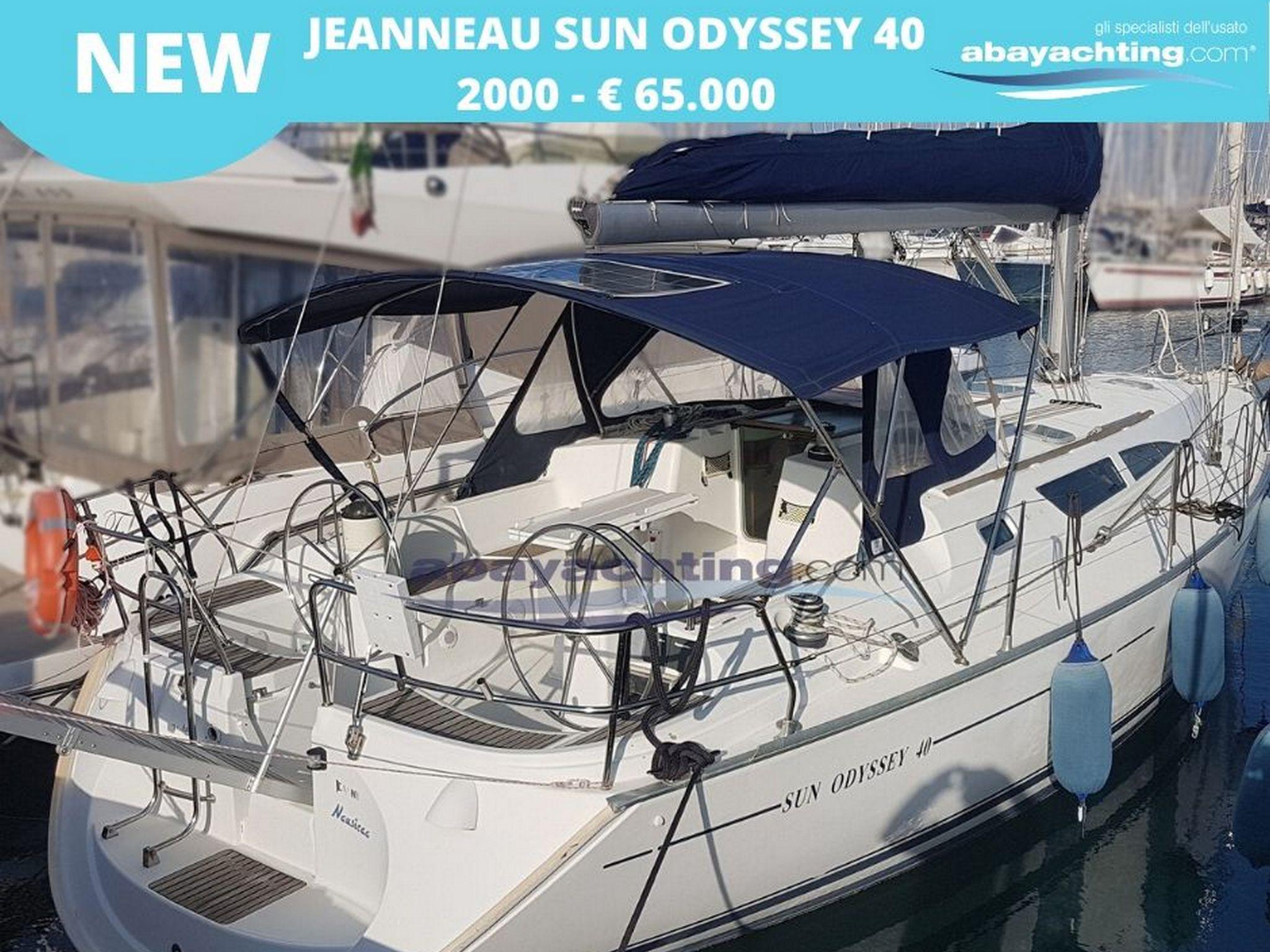New arrival Jeanneau Sun Odyssey 40