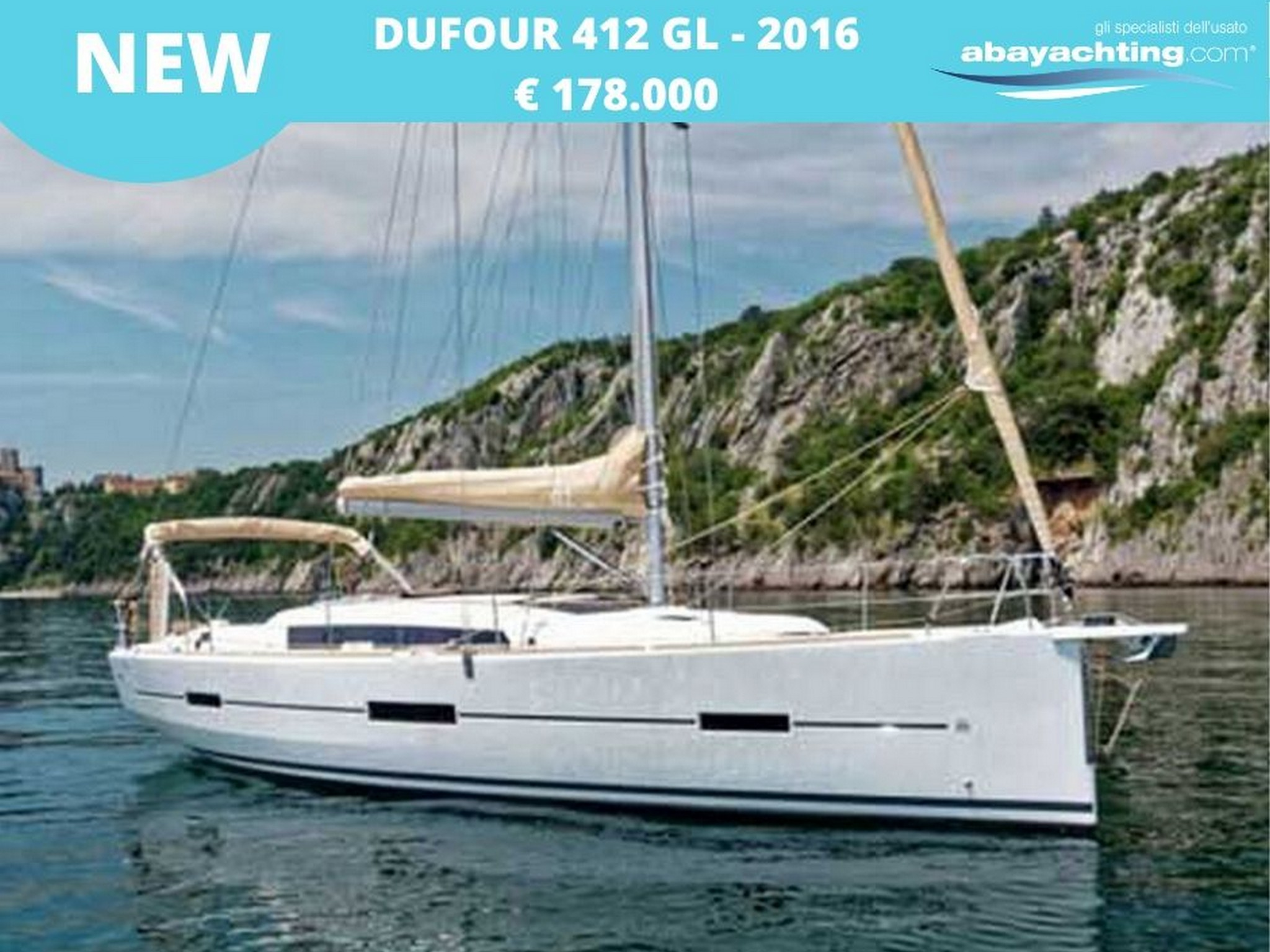 New arrival Dufour 412 Grand Large