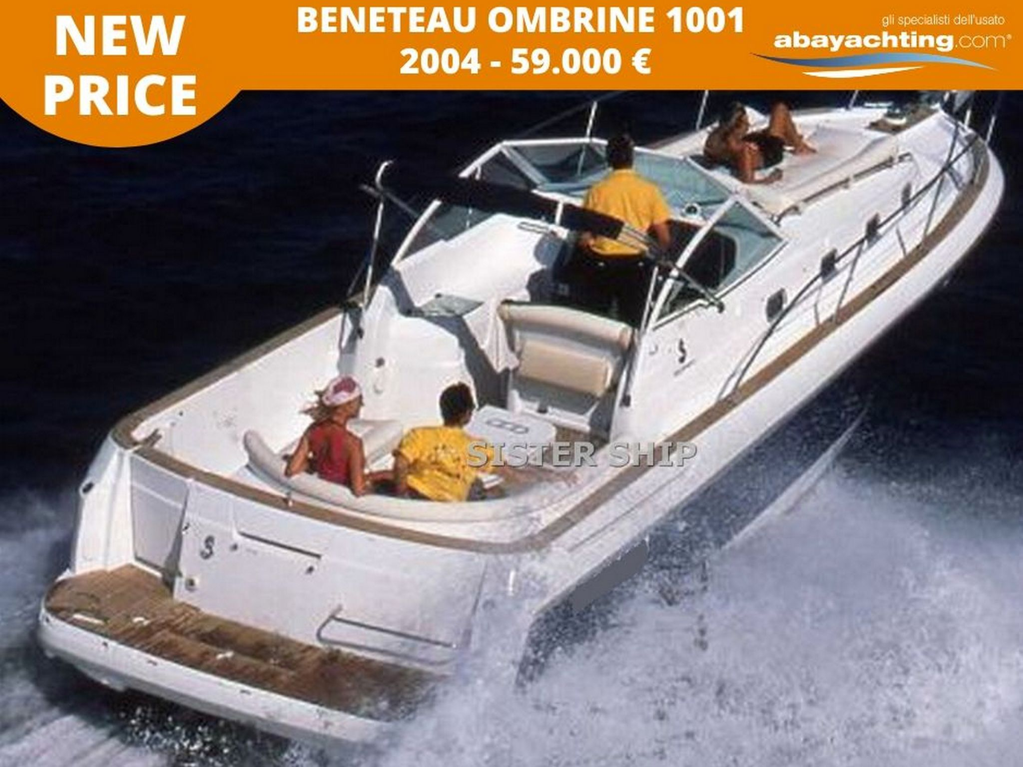 Price reduction Beneteau Ombrine 1001