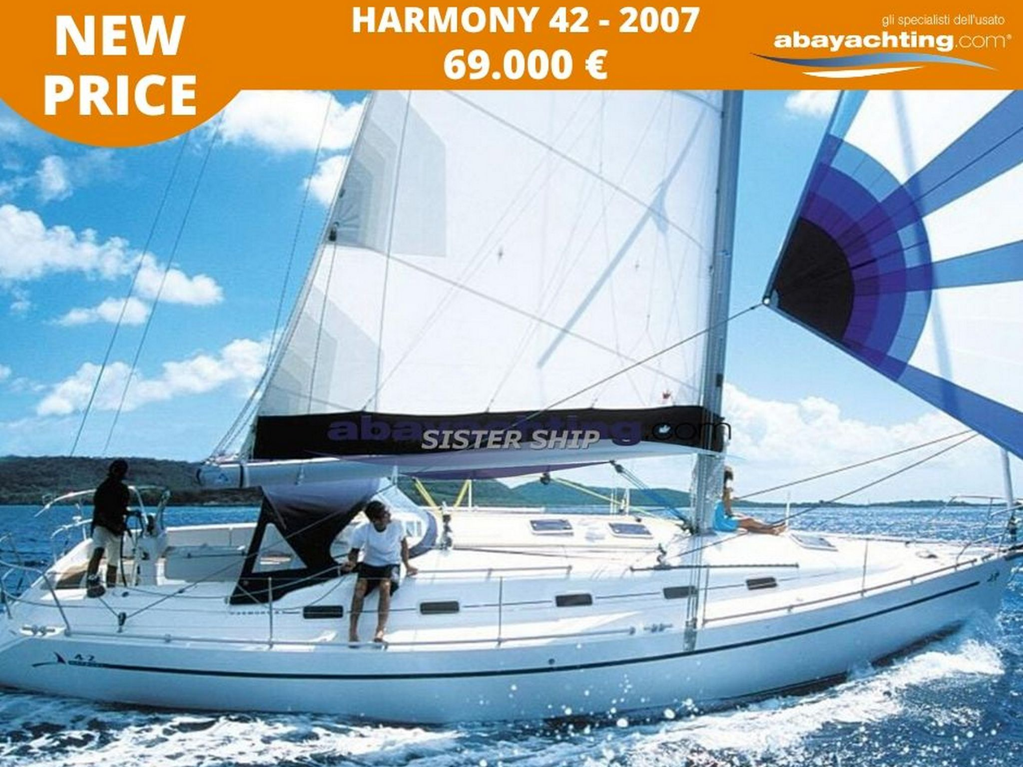 Price reduction Harmony 42
