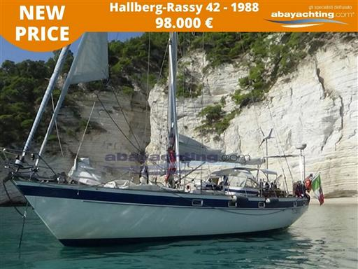 Price reduction Hallberg-Rassy 42