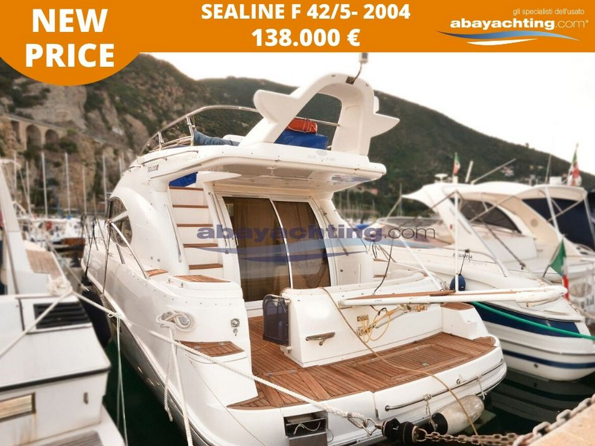 Price reduction Sealine F 42/5