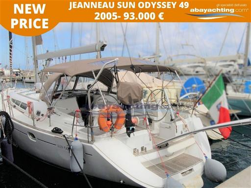 Price reduction Jeanneau Sun Odyssey 49
