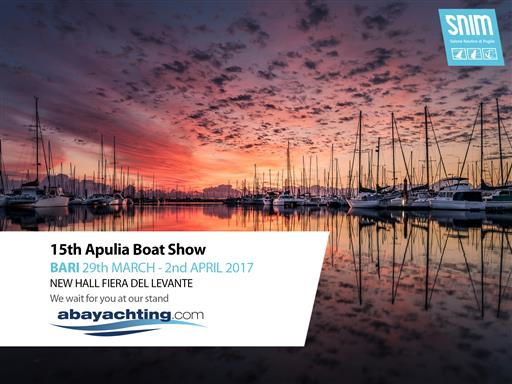 Abayachting at the Apulia Boat Show