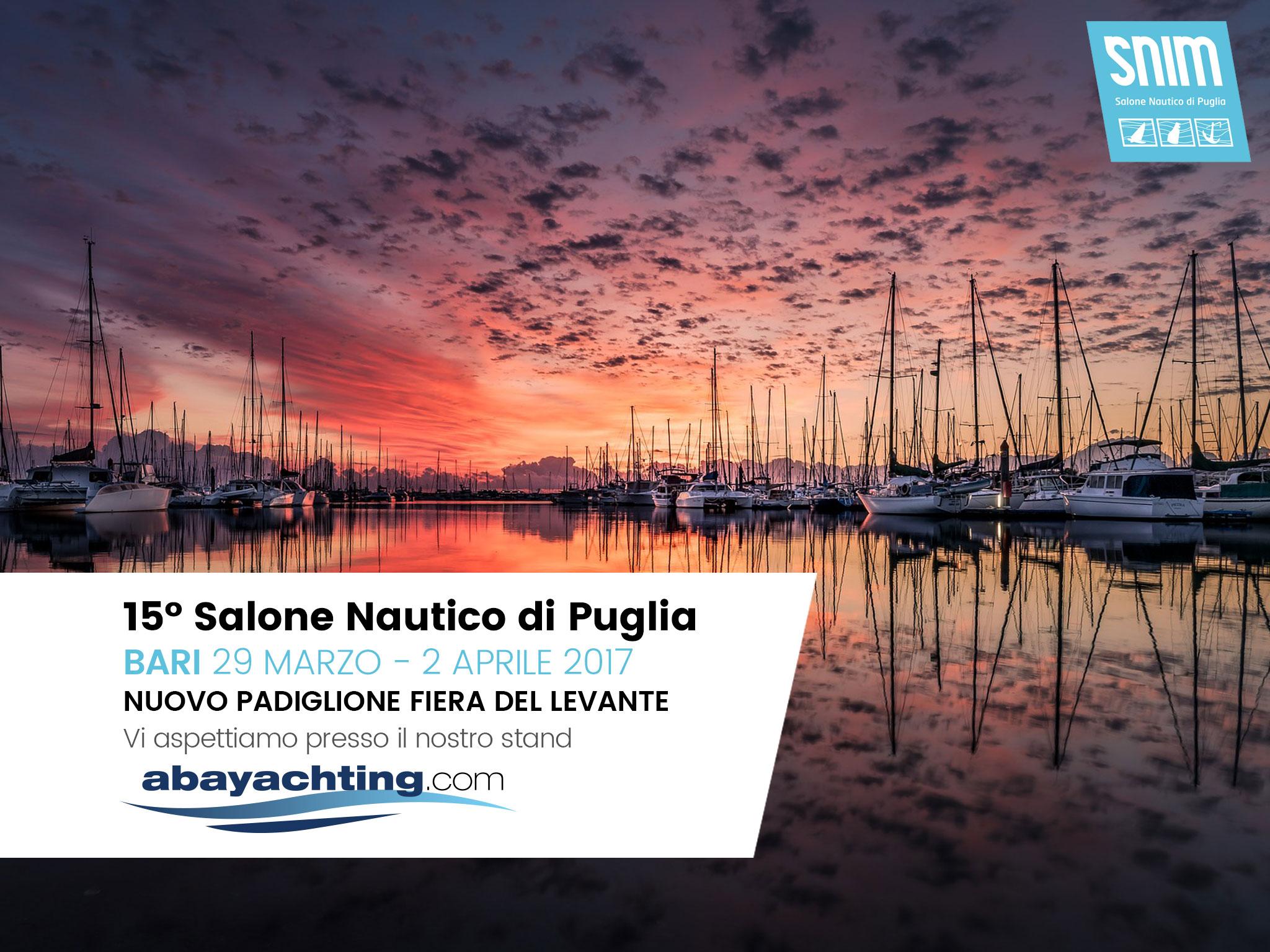 Abayachting al Salone Nautico di Puglia