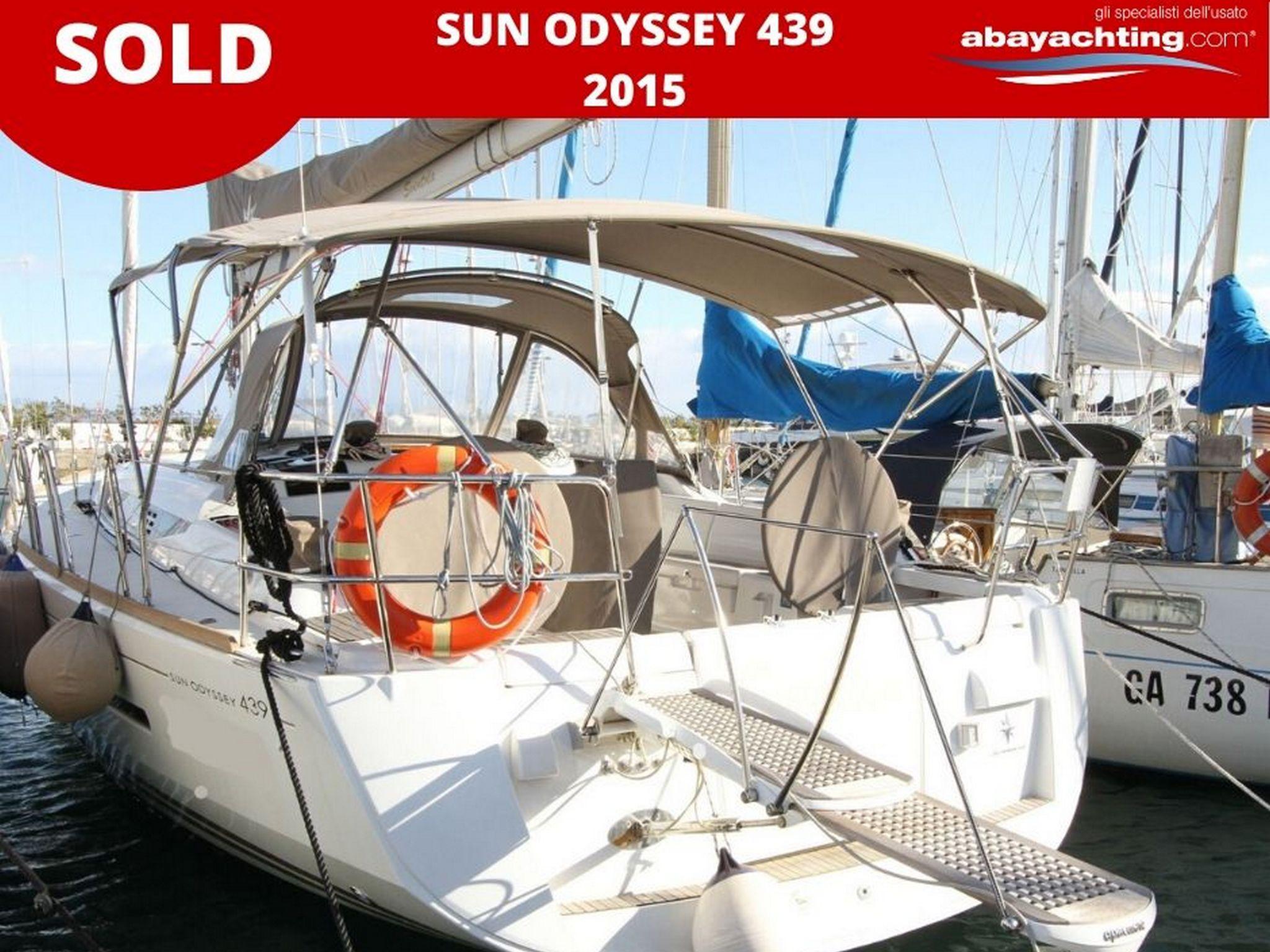 Jeanneau Sun Odyssey 439 vendu