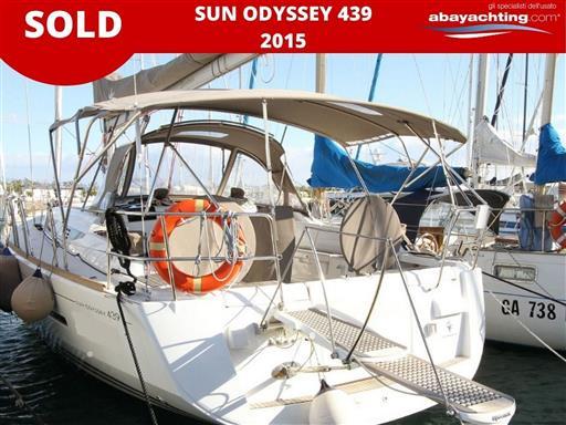 Jeanneau Sun Odyssey 439 sold