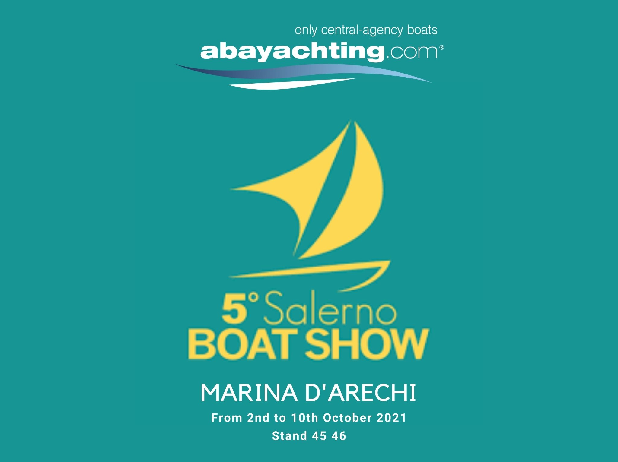 Abayachting at the 5th Salerno Boat Show!
