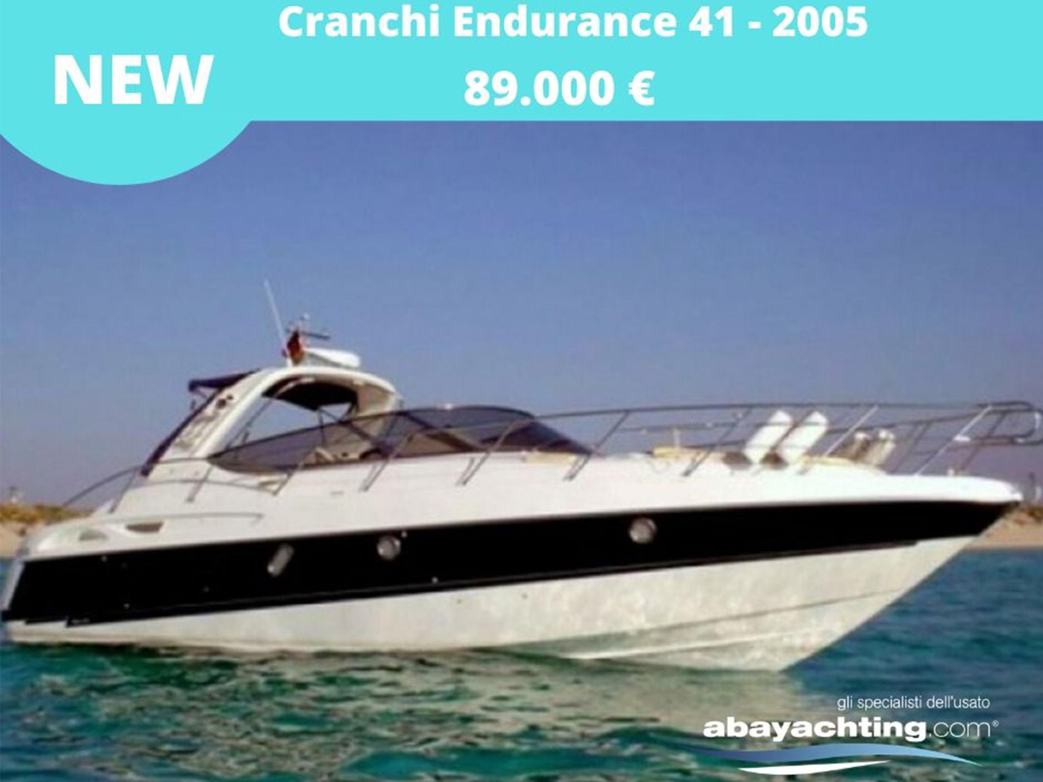 Nuovo arrivo Cranchi Endurance 41