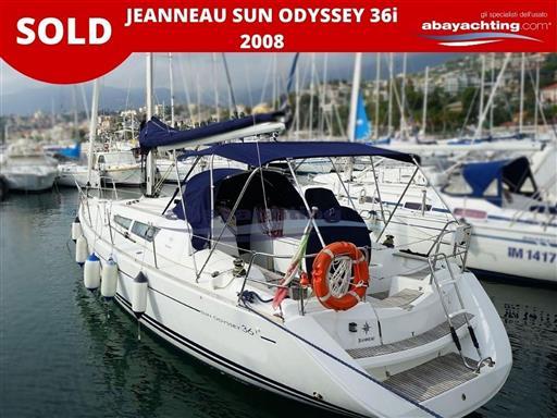 Jeanneau Sun Odyssey 36 i sold