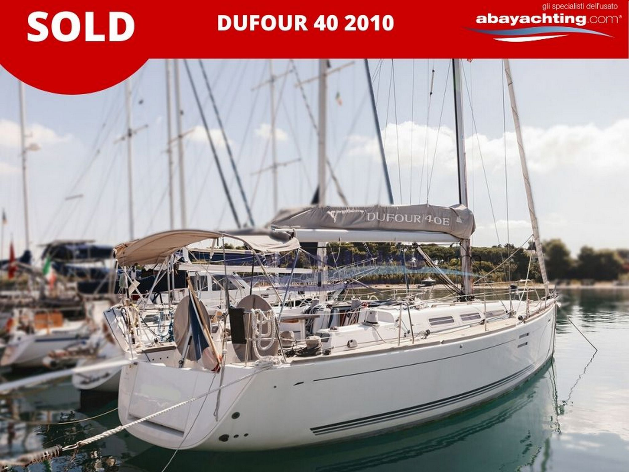 Dufour 40 2010 sold