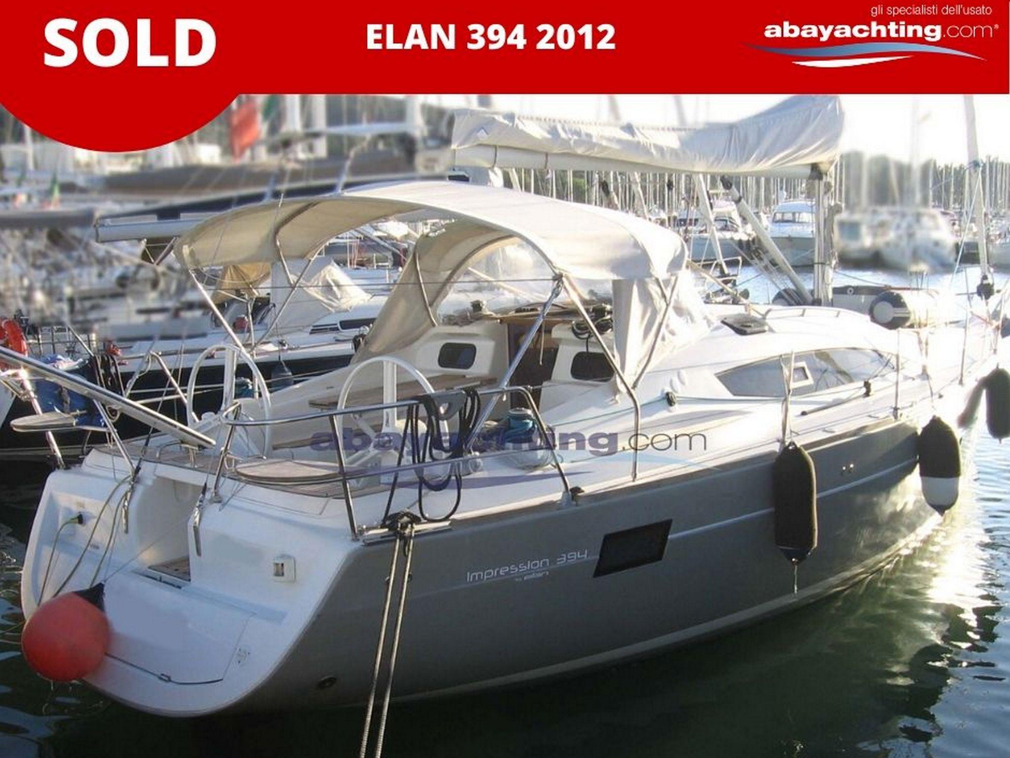 Elan 394 2012 sold