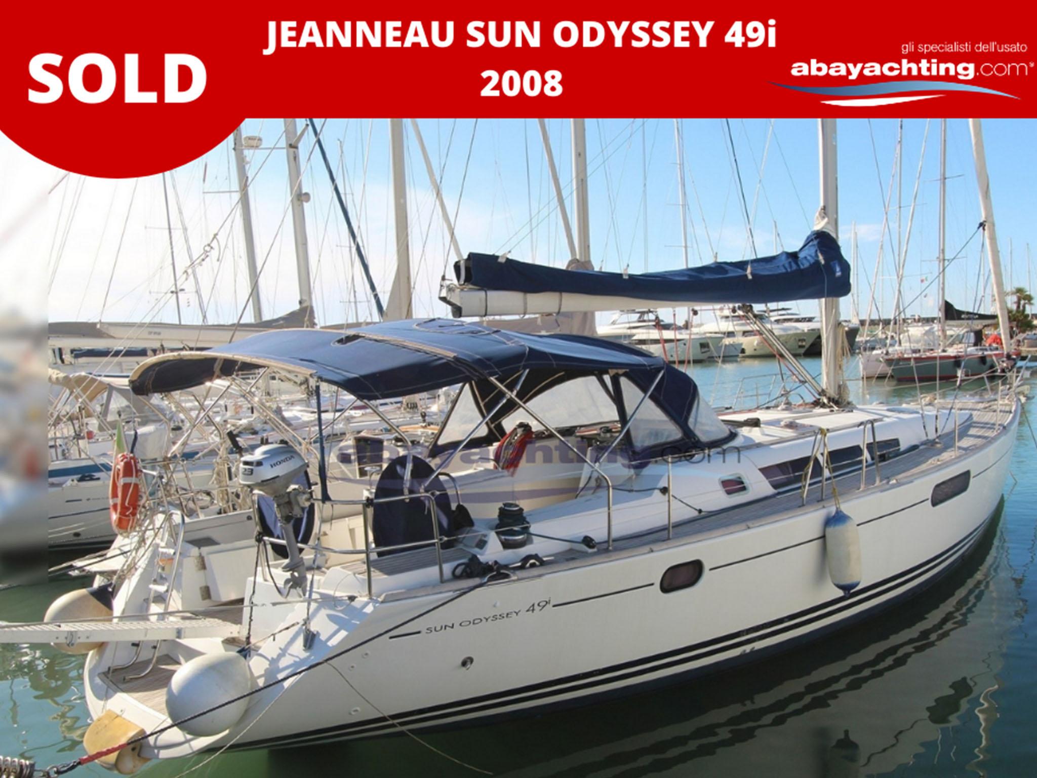 Jeanneau Sun Odyssey 49i vendu