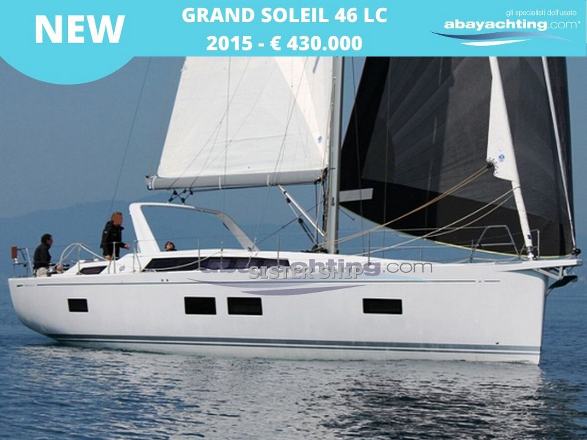 New arrival Grand Soleil 46 LC