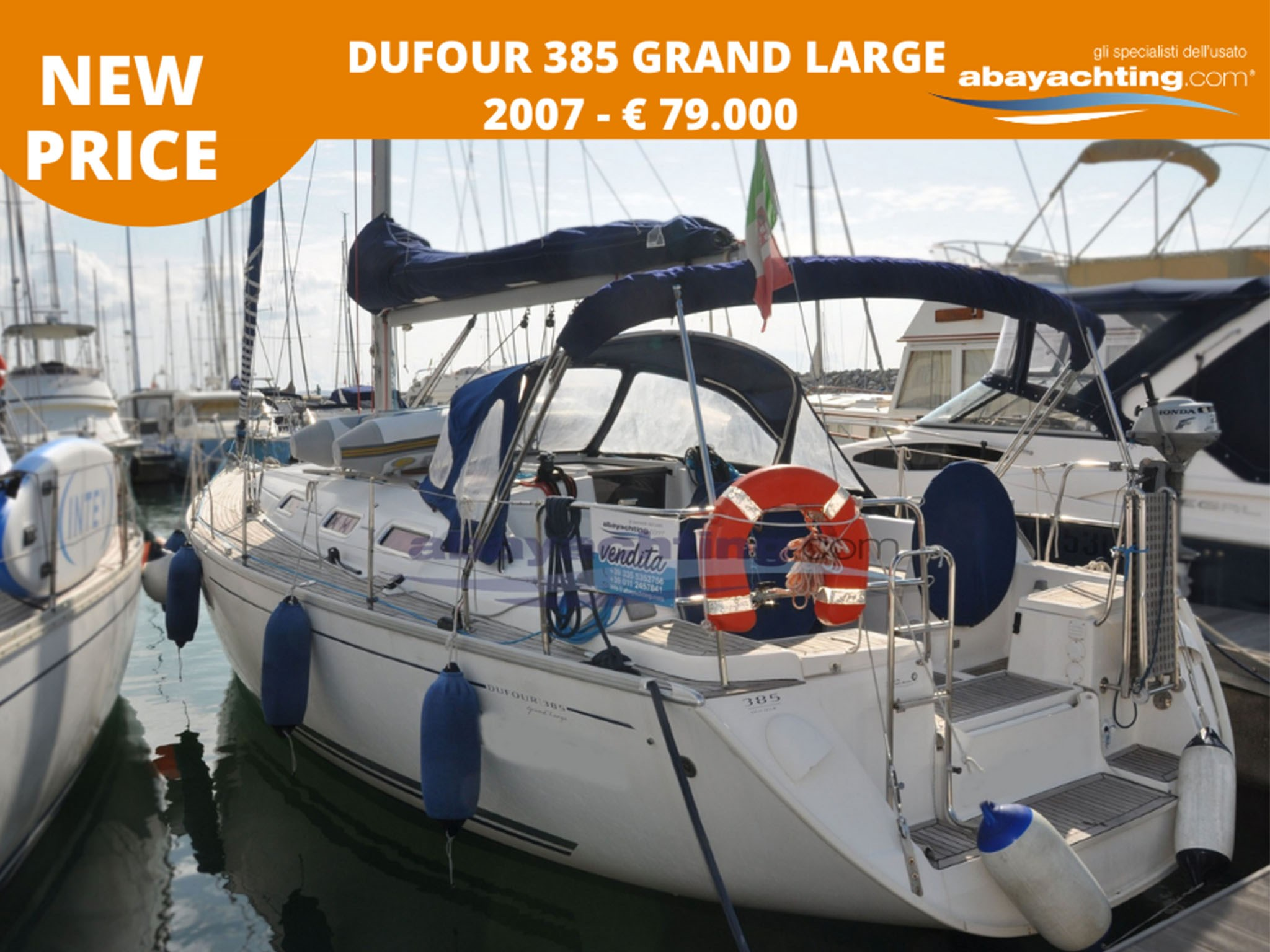 New price Dufour 385 Grand Large