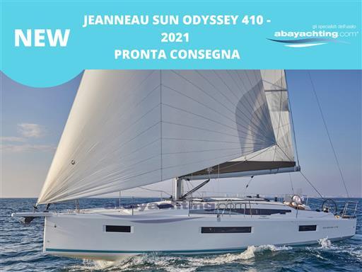 New arrival Jeanneau Sun Odyssey 410 year 2021!
