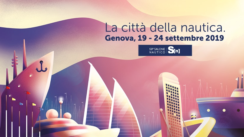 We are waiting for you at the 59th Genoa Boat Show!