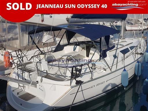 Jeanneau Sun odyssey 40 sold